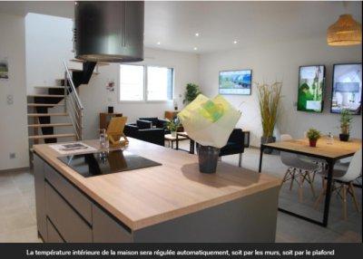 À Val-de-Reuil, les trois maisons du futur se dévoilent