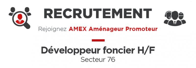 RECRUTEMENT - Développeur Foncier H/F Secteur Seine Maritime